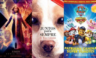 Fênix Negra, Patrulha Canina e Juntos Para Sempre estreiam no Cinemark Camaçari