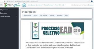 IFBA reabre inscrições para processo seletivo da UAB em Dias d'Ávila