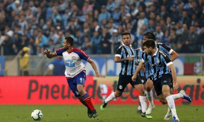 Copa do Brasil: com casa cheia, Bahia e Grêmio se enfrentam no segundo jogo das quartas de final