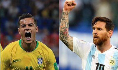Brasil e Argentina, o super clássico das Américas