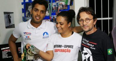 FazAtleta apoia pela primeira vez um esportista autista