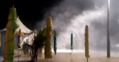 VÍDEO: moradores registram avanço do mar em Jauá