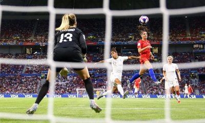 EUA bate Inglaterra e está na final da Copa do Mundo de Futebol Feminino