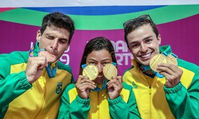 Pan: Brasil conquista quatro ouros em dia de mais de 10 medalhas