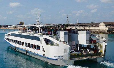 Ferry-Boat opera com novos valores de tarifa a partir de segunda-feira