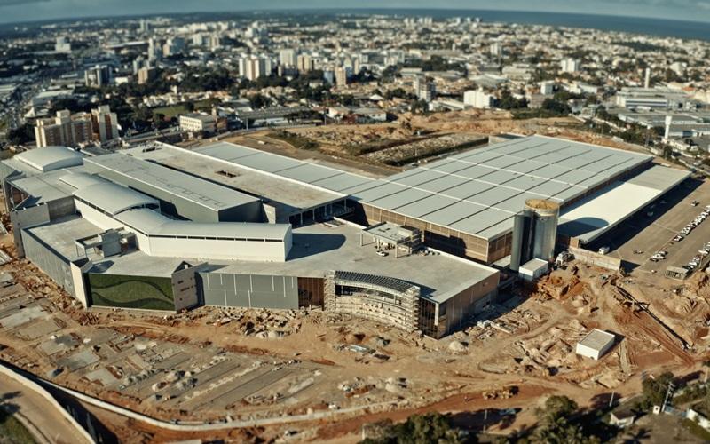 Lauro de Freitas: obras do Parque Shopping Bahia estão 95% concluídas