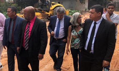 Após manifestação na Câmara, vereadores visitam área desmatada no Novo Horizonte