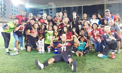 Vitória Camaçari F7 conquista o quarto título Baiano de futebol 7