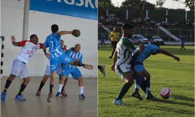 Agenda esportiva: Handebol e futebol são as principais modalidades do final de semana
