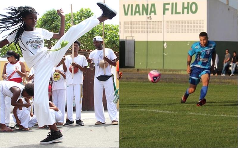 Futebol e capoeira marcam agenda do esporte no fim de semana em Camaçari