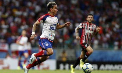 Bahia empata na Fonte Nova contra São Paulo e perde uma posição na tabela