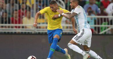 Nos últimos jogos do ano, Seleção Brasileira enfrentará Argentina e Coreia do Sul