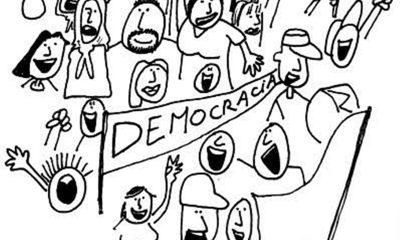 Salvando a democracia, por Edvaldo Júnior