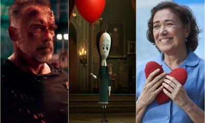 'Exterminador do Futuro', 'Maria do Caritó' e 'Família Addams' são as estreias dessa semana no Cinemark Camaçari