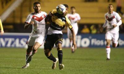 Vitória arranca empate contra Criciúma e garante um ponto fora de casa