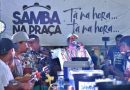 Ainda em clima de Carnaval, Bloquinho Samba na Praça anima Camaçari neste sábado