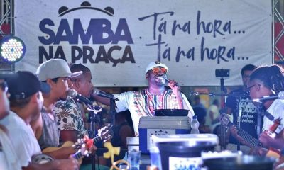 Samba na Praça realiza primeira edição do ano no dia 25 de janeiro