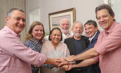 """""""Debatendo os desafios para a região"""", relata Lula sobre encontro com governadores em Salvador"""