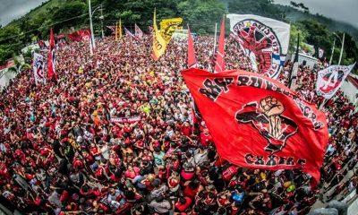 Festa na Favela: Flamengo ganha Libertadores e Brasileiro em dois dias