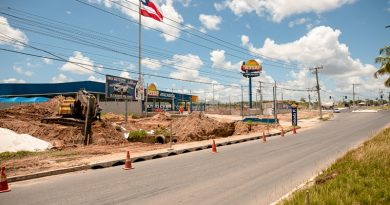Seinfra inicia construção de nova via de ligação ao Viaduto do Trabalhador