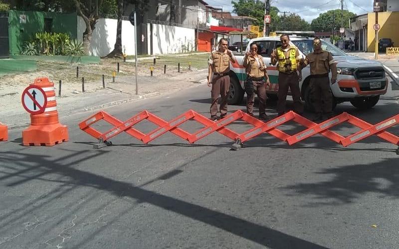 Trânsito: obras na Avenida 28 de Setembro causam mudanças na região