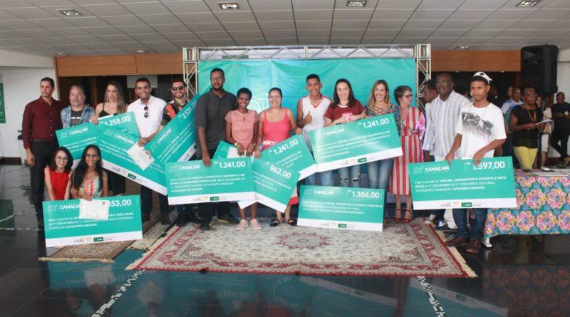 Ganhadores do concurso Fotografe recebem prêmio em cerimônia especial