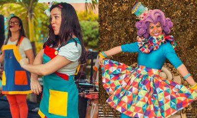 Grupo Pé de Lata e Boneca Flávia animam 'Bailinho da Criançada' em fevereiro