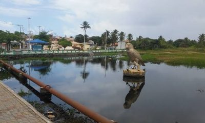 Após mudança de tempo, governo adia assinatura da ordem de serviço para requalificação da lagoa de Jauá