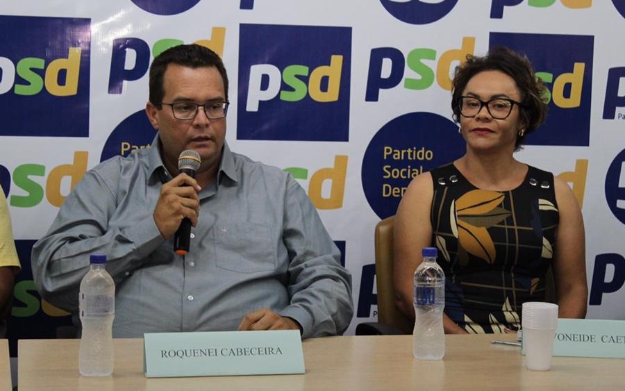 Roquenei retira pré-candidatura a prefeito e PSD declara apoio a Ivoneide