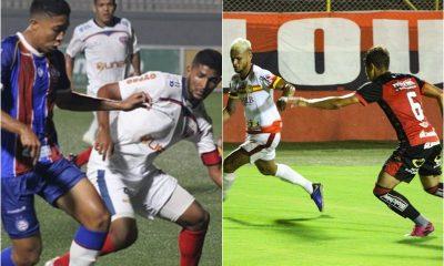 Vitória empata em casa e Bahia vence em Feira de Santana