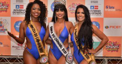 Passista de Camaçari, Marta Laleska é eleita princesa do Carnaval de Salvador