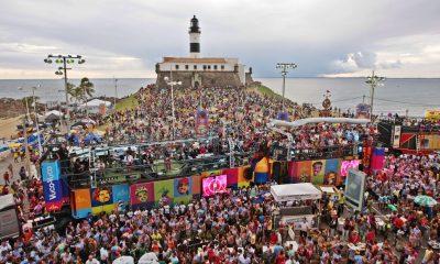 Cerca de 2,3 milhões de pessoas visitaram a Bahia no Carnaval