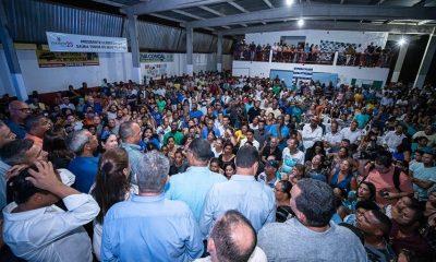 Opinião: Elinaldo confirma forte musculatura política e lota Arsenal em primeiro ato pré-eleitoral