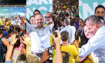 """Em ato do PSDB, Elinaldo revela que """"será uma honra ter o apoio de Fábio Lima"""""""