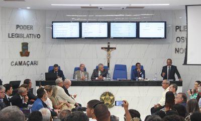 Com plenário requalificado, Câmara de Camaçari inicia trabalhos legislativos de 2020