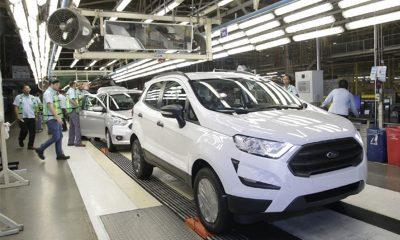 Coronavírus: Ford suspende atividades por três semanas em Camaçari