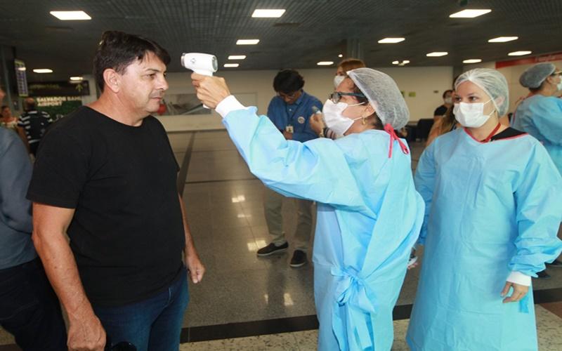 Anvisa cancela medição de temperatura no aeroporto de Salvador; Governo do Estado irá acionar a justiça