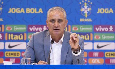 Tite anuncia convocados para próximos jogos das Eliminatórias da Copa do Mundo