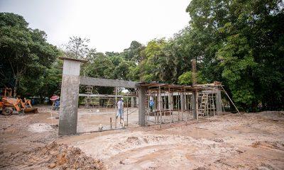 Obras de implantação do Parque Ecológico Horto Florestal estão aceleradas