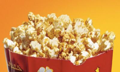 Gostinho de cinema em casa: Rede Cinemark vende pipoca online