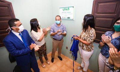 Governo inaugura Cras de Monte Gordo; unidade terá plantão especial por conta da pandemia