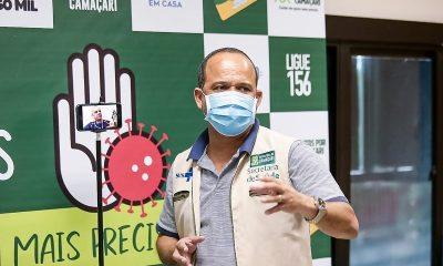 Ações de Elinaldo no combate ao coronavírus são aprovadas por 64% da população em Camaçari