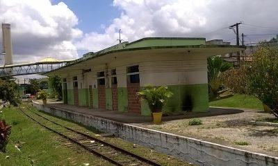 Secult assina contrato para revitalizar estação de trem no Centro
