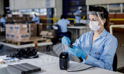 Camaçari: Ford produz 35 mil máscaras para profissionais de saúde