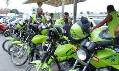 Mototaxistas com cadastro desatualizado irão receber cesta básica; confira cronograma