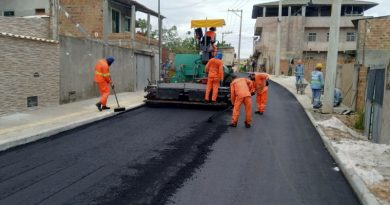 Nova pavimentação em Jauá facilita mobilidade da população