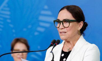 Regina Duarte deixa Secretaria da Cultura