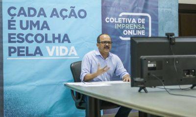 Elinaldo anuncia projeto de reabertura do comércio, novo calendário letivo e mais ações de combate ao coronavírus