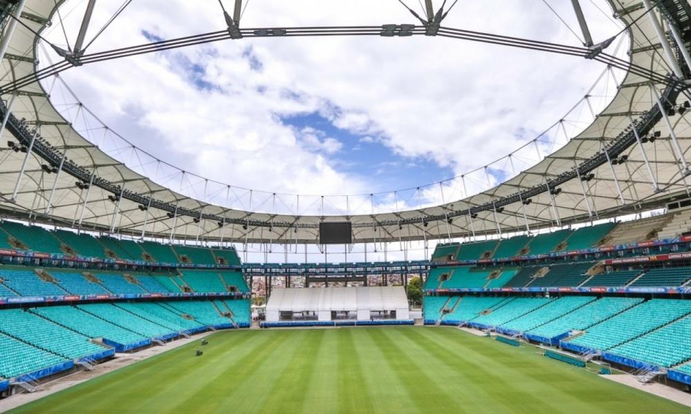 Arena Fonte Nova volta a sediar partidas de futebol em novembro