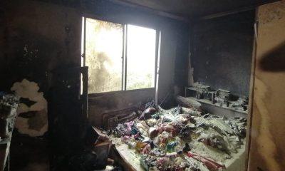 Incêndio atinge apartamento no Vila Cantuária